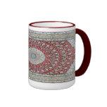 Persian Carpet in Reddish Mug