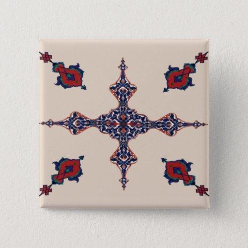 Persian Carpet motif Button