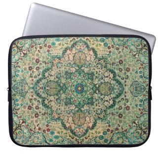Persian Carpet Motive Laptop Computer Sleeve