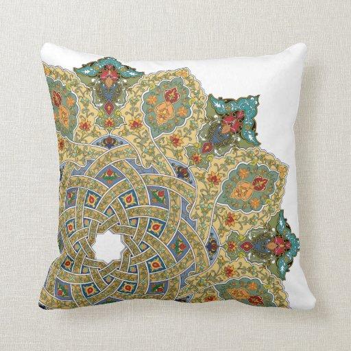 Persian Design Throw Pillows : Persian Carpet Pillow by Graphita Zazzle