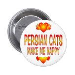 Persian Cat Buttons