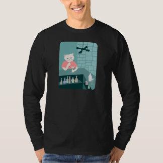 Persian Cat Martini Bar T Shirts