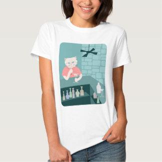 Persian Cat Martini Bar Tee Shirt