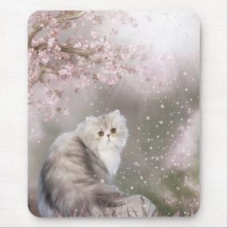 Persian cat mouse pad