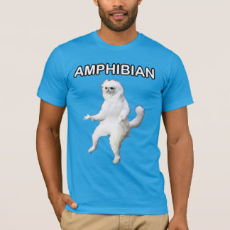 Persian Cat Room Guardian Amphibian Meme Shirt