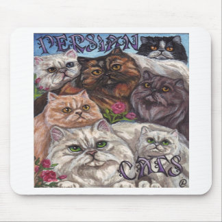 PERSIAN CATS Mouse Pad