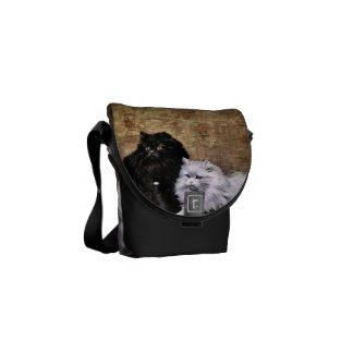 Persian Cats Painting Messenger Bag