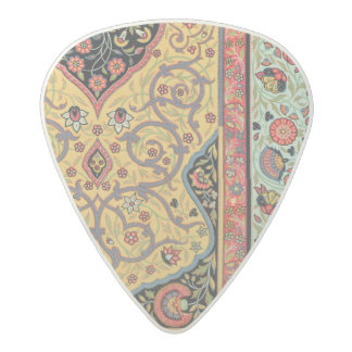 Persian Decoration, plate XXV from 'Polychrome Orn Acetal Guitar Pick