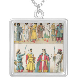 Persian Dress, from 'Trachten der Voelker', 1864 Necklace