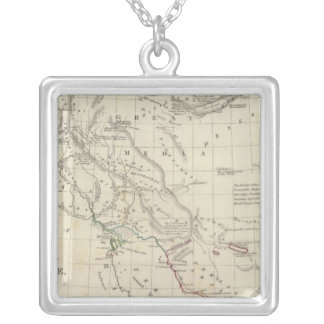 Persian Empire, eastern Silver Plated Necklace