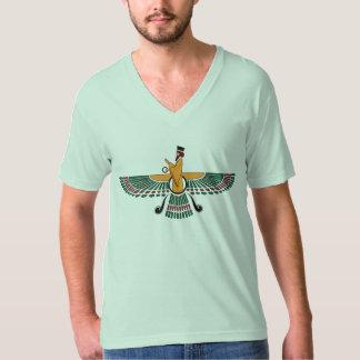 Persian Farvahar V-neck T-Shirt