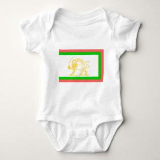 Persian Flag (1906) Baby Bodysuit