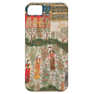 Persian Garden, 15th century (w/c on paper) iPhone 5 Cases