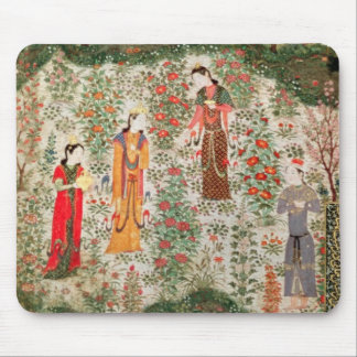 Persian Garden, 15th century (w/c on paper) Mouse Pad