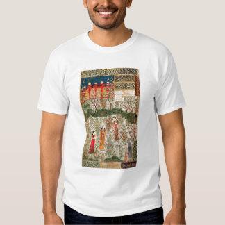 Persian Garden, 15th century (w/c on paper) T-Shirt