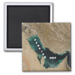 Persian Gulf 2 Inch Square Magnet