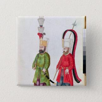 Persian Janissaries, 1513 Pinback Button