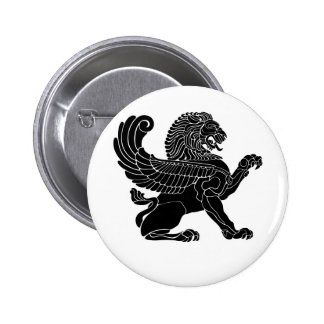 persian lion button