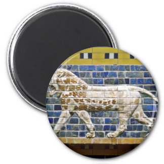 Persian Lion - Glazed Brick, Istanbul Magnet