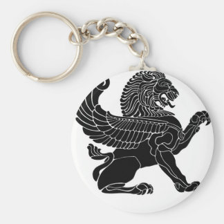 persian lion keychain