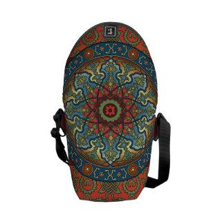 Persian Mandala Messenger Bag