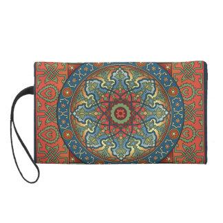 Persian Mandala Wristlet Purse