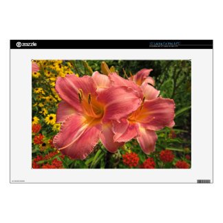 "Persian Market Daylilies 15"" Laptop Decals"