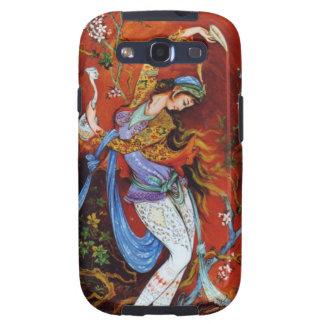 Persian Miniature Dancing Nymph Samsung Galaxy S3 Cover