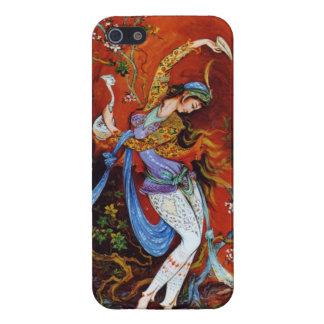 Persian Miniature Dancing Nymph iPhone SE/5/5s Case
