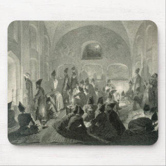 Persian Mosque at Yerevan, Armenia, a Night During Mouse Pad
