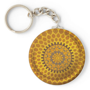 Persian Motif keychain