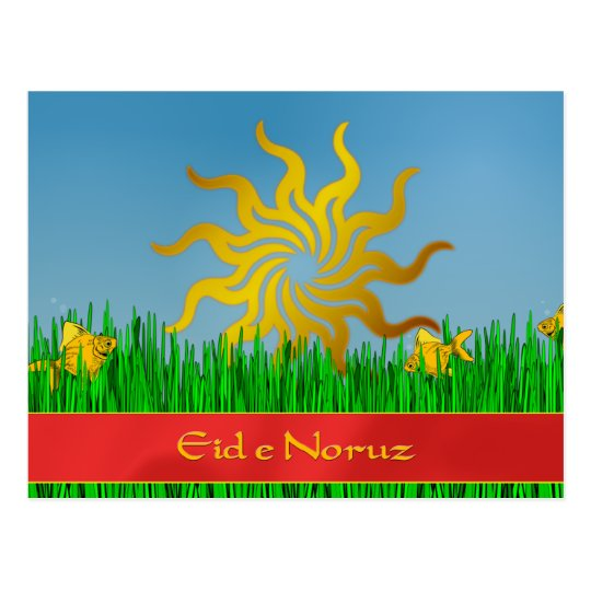 Persian New Year Eid e Noruz Postcard