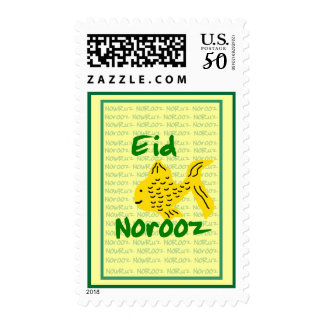 Persian New Year Eid Norooz with Fish Postage