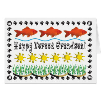 Persian New Year grandson Cards