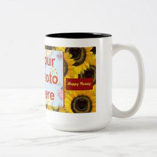 Persian New Year Happy Norooz  سال نو مبارک Two-Tone Coffee Mug