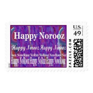 Persian New Year  Happy Norooz Nowruz NoRooz Postage