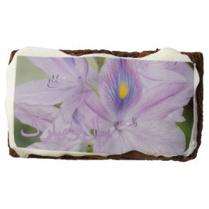 Persian New Year Nowruz Water Hyacinth Brownie
