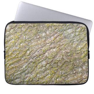 Persian Oak Bark with Lichen Laptop Sleeve