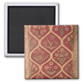 Persian or Turkish carpet, 16th/17th century (wool 2 Inch Square Magnet