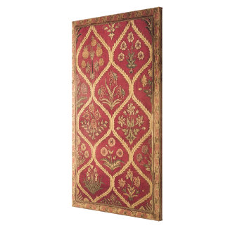 Persian or Turkish carpet, 16th/17th century (wool Canvas Print