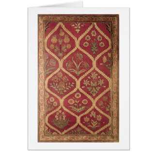 Persian or Turkish carpet, 16th/17th century (wool Card