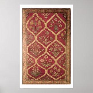 Persian or Turkish carpet, 16th/17th century (wool Poster