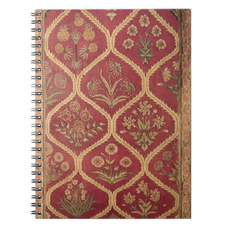 Persian or Turkish carpet, 16th/17th century (wool Spiral Notebook