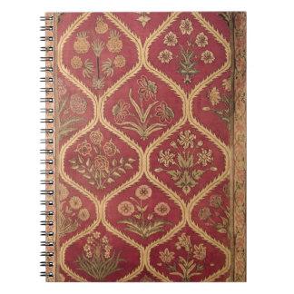 Persian or Turkish carpet, 16th/17th century (wool Spiral Notebook