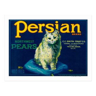 Persian Pear Crate LabelYakima, WA Postcards