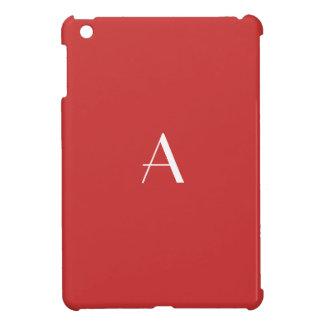 Persian Red iPad Mini Case