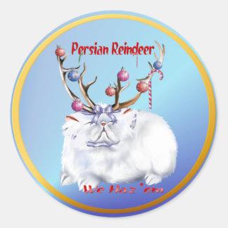 Persian Reindeer Sticker