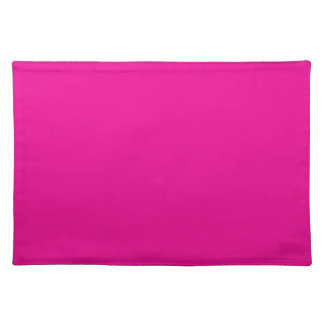 PERSIAN ROSE (solid rosy color) ~ Cloth Placemat