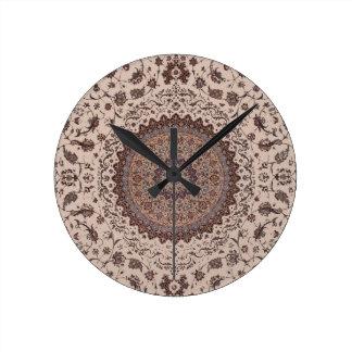 Persian Rug Wall Clocks