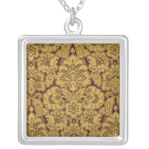 Persian styled flowers, 1880-1890 necklace